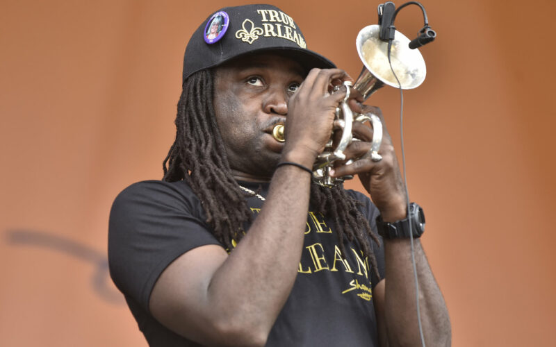 trumpeter gets guns off the streets