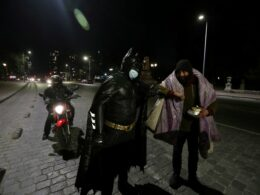 disguised batman