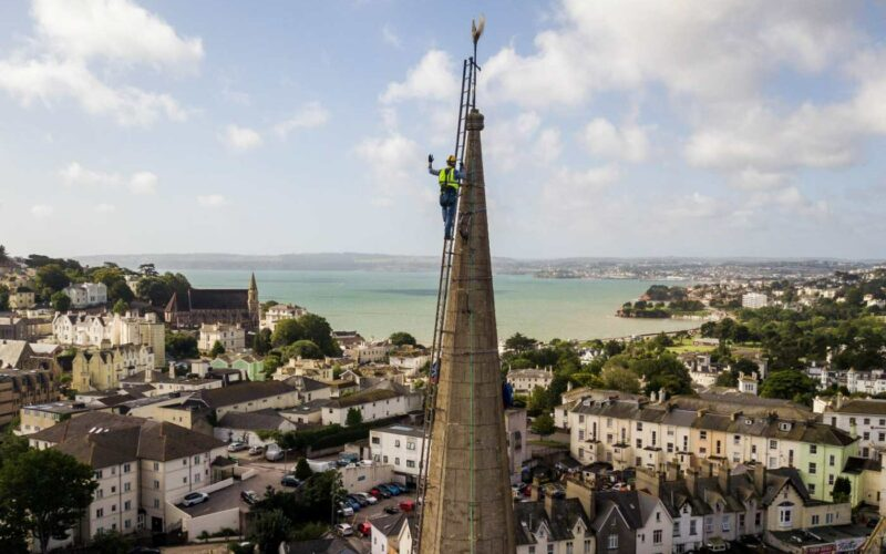 English vicar overcomes fear of heights
