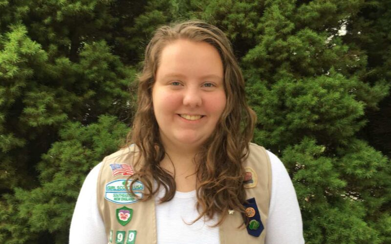 Girl Scout Lucy Stimson