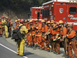 Inmate firefighters