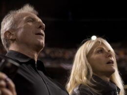 Joe Montana and wife