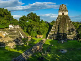 Ancient maya city