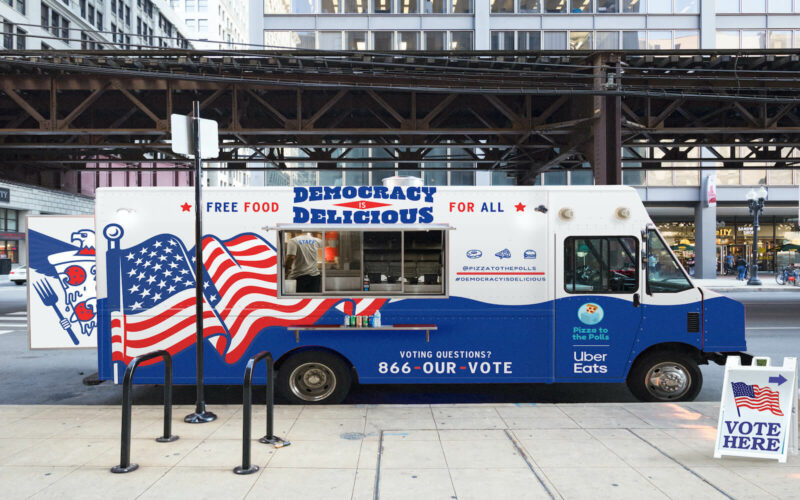 Pizza to the Polls Gives Free Food to Hundreds of Thousands of Voters