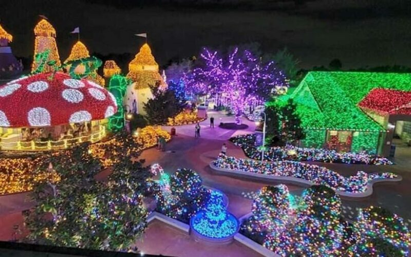 89-acres of holiday lights