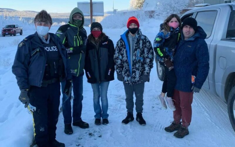 A Canadian Ranger Drives 1,000 miles to Help Stranded American Family