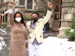 Couple who hid in two Philadelphia churches for 843 days to avoid deportation are now free