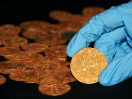 Family Discovers 15th Century Gold Coins While Taking Out Weeds in Their Gardens
