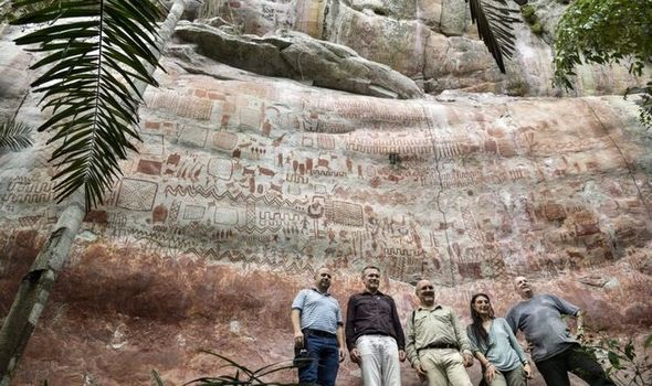 Great Cave Paintings Discovered in Amazon Forest
