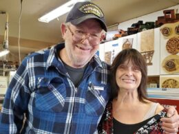 Retired couple makes toys