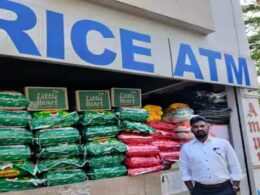 Indian Man, Ramu Dosapati Opens 'Rice ATM' For the Needy