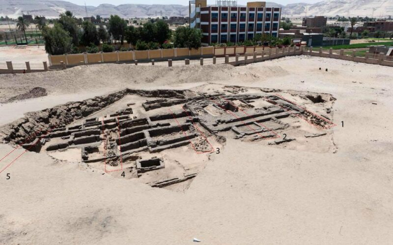Archaeologists in Egypt