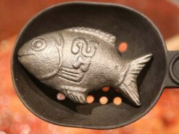 Ingenious metal fish