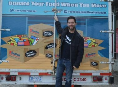 Move for Hunger initiative
